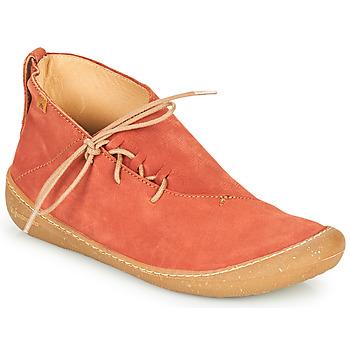 Topánky Ženy Polokozačky El Naturalista PAWIKAN Červená