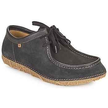 Topánky Polokozačky El Naturalista REDES Čierna