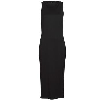Oblečenie Ženy Krátke šaty Karl Lagerfeld KITTED WRAP DRESS Čierna