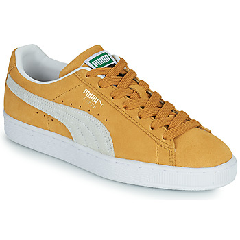 Topánky Nízke tenisky Puma SUEDE Žltá / Biela