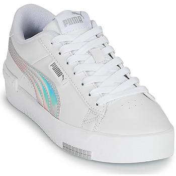 Topánky Dievčatá Nízke tenisky Puma JADA RAINBOW JR Biela / Viacfarebná