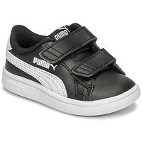 Topánky Deti Nízke tenisky Puma SMASH INF Čierna / Biela