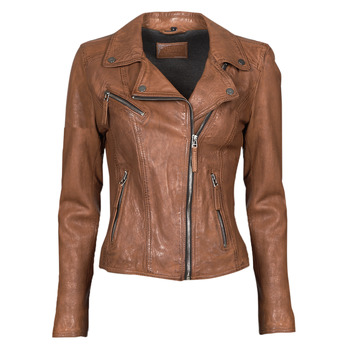 Oblečenie Ženy Kožené bundy a syntetické bundy Oakwood CLIPS 6 Hnedá