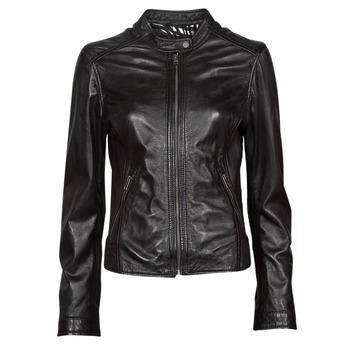 Oblečenie Ženy Kožené bundy a syntetické bundy Oakwood KARINE Čierna