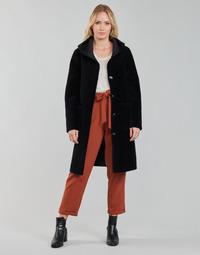 Oblečenie Ženy Kabáty Oakwood ANGELIQUE Čierna