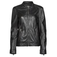 Oblečenie Ženy Kožené bundy a syntetické bundy Oakwood DUBLIN Čierna
