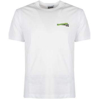 Oblečenie Muži Tričká s krátkym rukávom Les Hommes  Biela