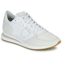 Topánky Muži Nízke tenisky Philippe Model TRPX LOW BASIC Biela