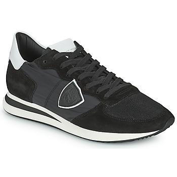Topánky Muži Nízke tenisky Philippe Model TRPX LOW BASIC Čierna
