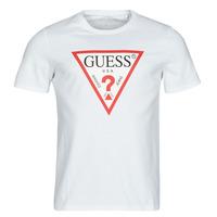 Oblečenie Muži Tričká s krátkym rukávom Guess CN SS ORIGINAL LOGO TEE Biela