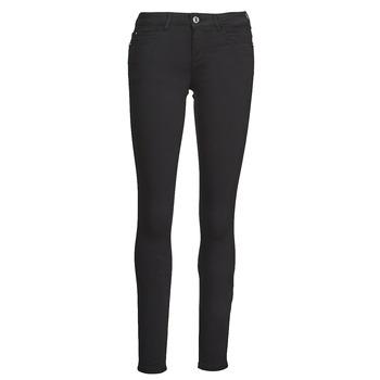 Oblečenie Ženy Nohavice päťvreckové Guess CURVE X Čierna