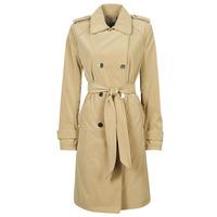 Oblečenie Ženy Kabátiky Trenchcoat Guess SUSAN TRENCH Béžová