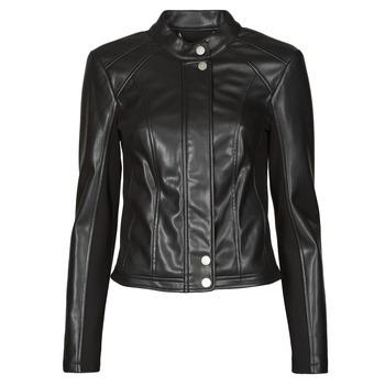 Oblečenie Ženy Kožené bundy a syntetické bundy Guess FIAMMETTA JACKET Čierna