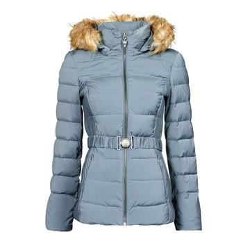 Oblečenie Ženy Vyteplené bundy Guess CLAUDIA DOWN JACKET Modrá