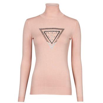 Oblečenie Ženy Svetre Guess ADELLE TN LS SWTR Ružová