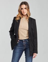 Oblečenie Ženy Saká a blejzre Guess AIDA JACKET Čierna