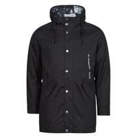 Oblečenie Muži Parky Guess COMMUTER DOUBLE JKT Čierna
