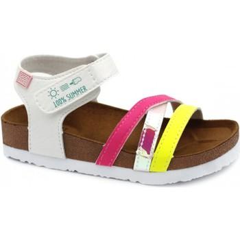Topánky Dievčatá Sandále Gioseppo CHANCLAS NIÑA  REID 62326 Biela
