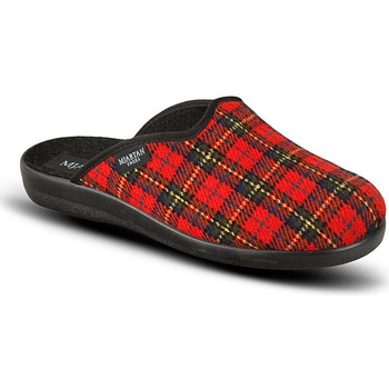 Topánky Ženy Papuče Mjartan Dámske červené papuče  LINES červená