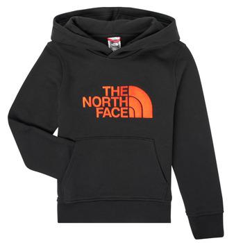 Oblečenie Chlapci Mikiny The North Face DREW PEAK HOODIE Čierna
