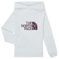 Oblečenie Dievčatá Mikiny The North Face DREW PEAK HOODIE Biela