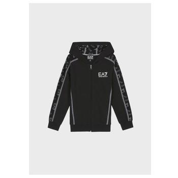Oblečenie Chlapci Mikiny Emporio Armani EA7 MANTHA Čierna