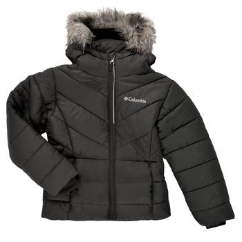 Oblečenie Dievčatá Vyteplené bundy Columbia KATELYN CREST Čierna