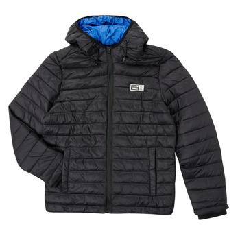 Oblečenie Chlapci Vyteplené bundy Deeluxe MITCHUM Čierna
