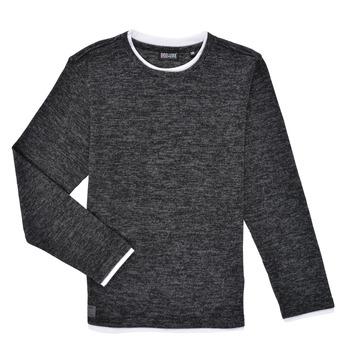 Oblečenie Chlapci Tričká s dlhým rukávom Deeluxe MONAN Čierna