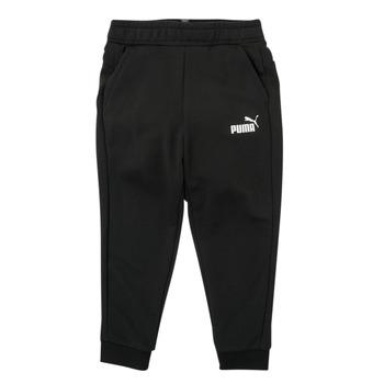 Oblečenie Chlapci Tepláky a vrchné oblečenie Puma ESSENTIAL SLIM PANT Čierna