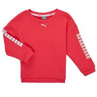 Oblečenie Dievčatá Mikiny Puma ALPHA CREW SWEAT Ružová