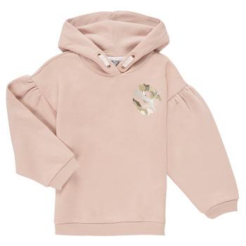Oblečenie Dievčatá Mikiny Puma ALPHA HOODIE Ružová