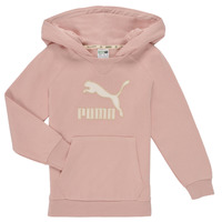 Oblečenie Dievčatá Mikiny Puma T4C HOODIE Ružová