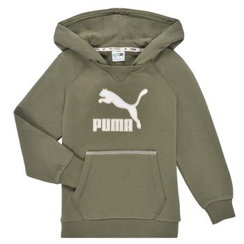 Oblečenie Chlapci Mikiny Puma T4C HOODIE Kaki