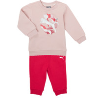 Oblečenie Dievčatá Komplety a súpravy Puma Minicats ALPHA Crew Jogger FL Ružová