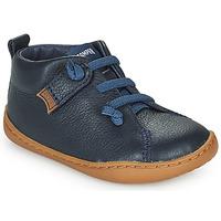 Topánky Deti Derbie Camper PEU CAMI Modrá