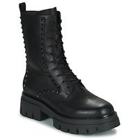 Topánky Ženy Polokozačky Ash LIAM Čierna