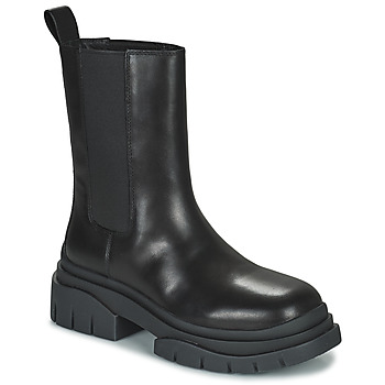 Topánky Ženy Polokozačky Ash STORM Čierna