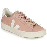 Topánky Ženy Nízke tenisky Veja CAMPO Ružová / Biela
