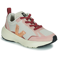 Topánky Dievčatá Nízke tenisky Veja SMALL CANARY Biela / Ružová