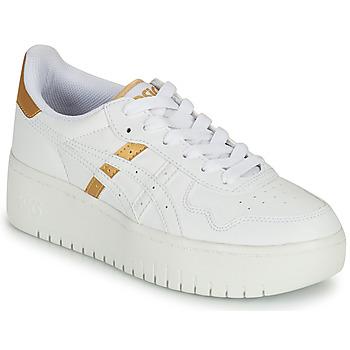 Topánky Ženy Nízke tenisky Asics JAPAN PLATFORM Biela / Zlatá