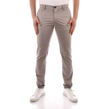 Oblečenie Muži Nohavice Chinos a Carrot Powell MBE097 WHITE