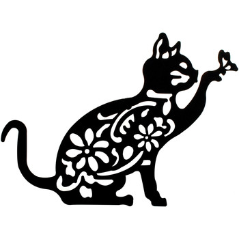 Domov Obrazy, plátna Signes Grimalt Stena Ornament Cat Negro