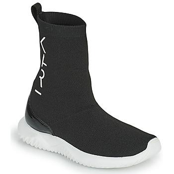 Topánky Dievčatá Členkové tenisky Karl Lagerfeld HEROS Čierna
