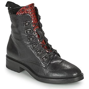 Topánky Ženy Polokozačky Metamorf'Ose KARDIESSE Čierna