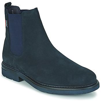 Topánky Muži Polokozačky CallagHan PURE CASUAL Modrá