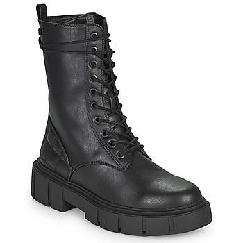 Topánky Ženy Polokozačky MTNG 50188-C51975 Čierna