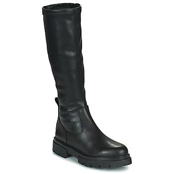 Topánky Ženy Čižmy do mesta MTNG 52465-C52355 Čierna