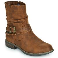 Topánky Ženy Polokozačky MTNG 51892-C52072 Koňaková