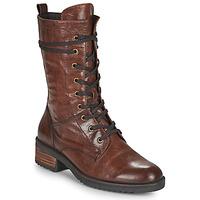 Topánky Ženy Polokozačky Caprice 25202-351 Koňaková
